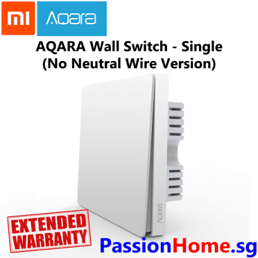 Aqara Wall Switch - Double (No Neutral Wire Required) - Passion Home