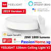 Yeelight LED Ceiling Light - Luna YLXD01YL 320mm PassionHome.sg 6