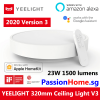 Yeelight LED Ceiling Light - Luna YLXD76YL 320mm PassionHome.sg 6