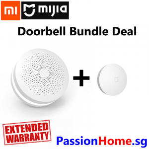 Xiaomi Gateway Wifi Zigbee Mijia + Wireless Switch Doorbell Bundle Deal