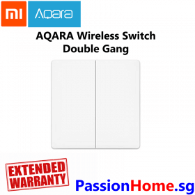 Aqara Wireless Switch Double Gang - Passion Home - Main