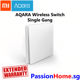 Aqara Wireless Switch Single Gang - Passion Home - Main