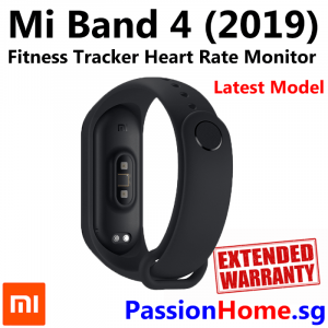 Xiaomi Mi Band 4 Fitness Tracker - Standard Edition (English) PassionHome.sg Passion Home Product 2