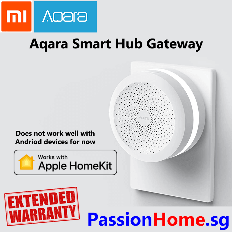 Aqara Smart Hub Gateway Works with HomeKit Passion Home 2 (Does not work with Andriod for now)