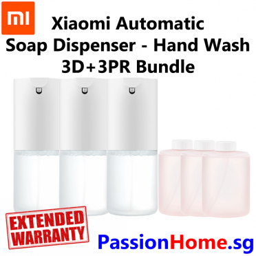 Xiaomi Automatic Soap Dispenser – Main Hand Wash - Bundle 3D+3PR