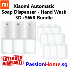 Xiaomi Automatic Soap Dispenser – Main Hand Wash - Bundle 3D+9WR
