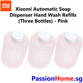 Xiaomi Automatic Soap Dispenser - Refill (3 Bottles) 2018 Model - Pink 2