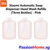 Xiaomi Automatic Soap Dispenser - Refill (3 Bottles) 2018 Model - Pink 3