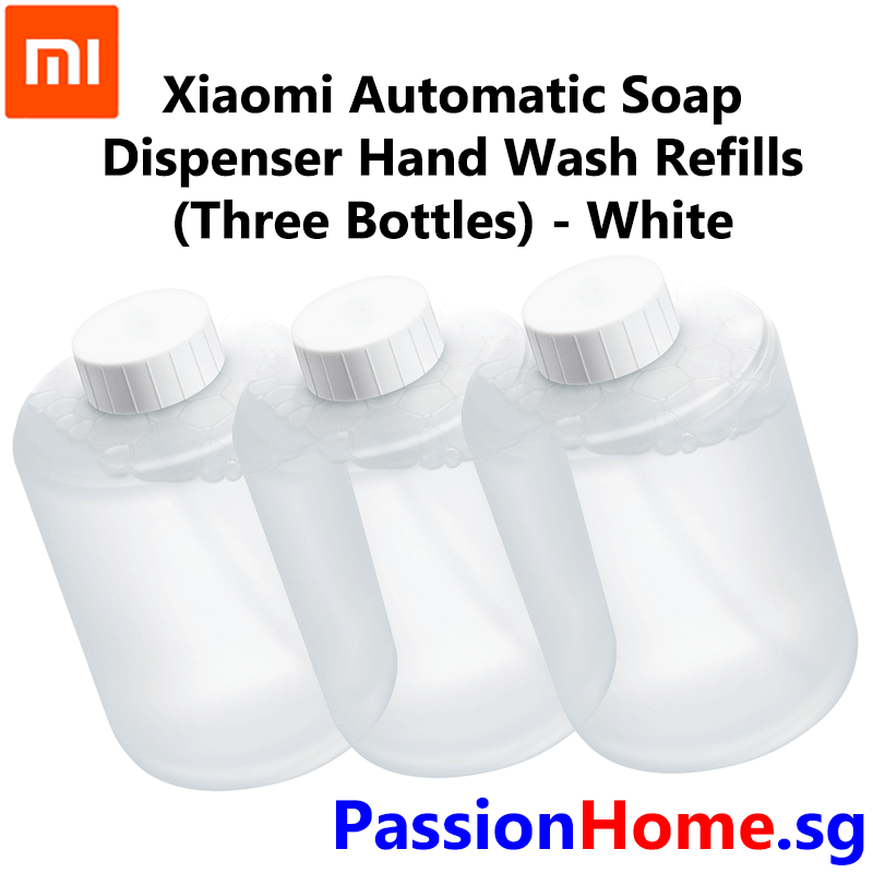 Xiaomi Automatic Soap Dispenser - Refill (3 Bottles) 2018 Model - White 3