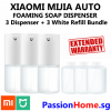 Xiaomi Automatic Soap Dispenser – Main Hand Wash - Bundle 3D+3WR