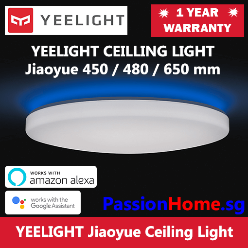 Yeelight Jiaoyue LED Ceiling Light 450 480 650mm - PassionHome.sg 510px 2