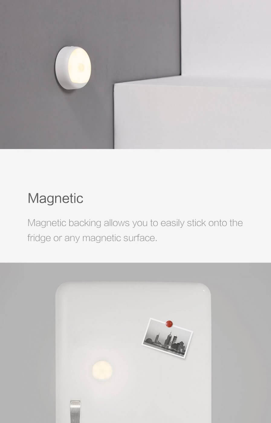Yeelight Rechargeable Motion Sensor Nightlight Xiaomi Mi Passion Home Description 4