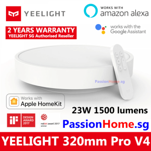 Yeelight LED Ceiling Light - Luna YLXD76YL 320mm Pro V4 PassionHome.sg (2 Years Official Warranty) 6