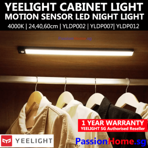 Yeelight Cabinet Light Light 20 cm, 40 cm 60 cm Black Silver YLYD002 YLYD007 YLYD012 - PassionHome Passion Home 1